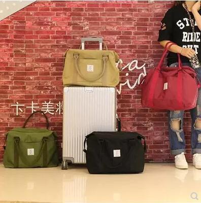 Bag / Satchel / Short-distance Oxford cloth travel bag female mens lightweight handbag Deals for only S$33.8 instead of S$33.8