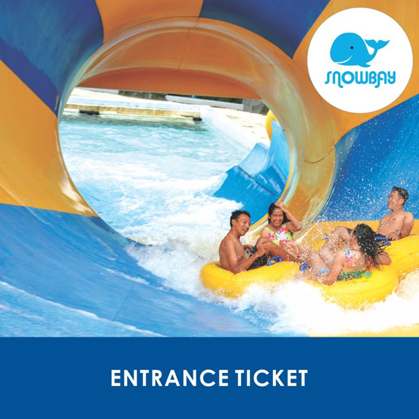 [WATERPARK] SnowBay/ 50% Off Tiket Masuk SnowBay TMII/ Weekend/ Weekday/ Libur/ All Day Deals for only Rp70.000 instead of Rp179.487