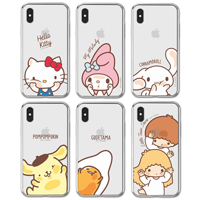 wholesale dealer 6cbef b3556 HELLO KITTY FACE JELLY CASE IPHONE XS MAX XR X 8 7 6 6S 5 5S SE SMART  MOBILE PHONE