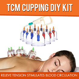 TCM Cupping DIY Kit//Relieve Tension Stress Pain Relief Stimulates Blood Circulation