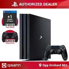 Playstation 4 Pro Console Bundle // 2 controllers // 1 Premium Game Of Choice