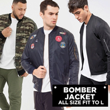 ★★ NEW ARRIVAL ★★ [PWP] Bomber Jacket - Unisex Bomber Jacket - All Size Fit to L - Good Quality