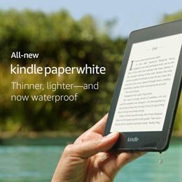 亞馬遜Amazon Kindle Paperwhite 2018 8GB 32GB / 6英寸顯示器 / Wi-Fi / 防水 / Audible有聲讀物