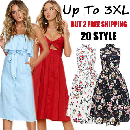 High end fashion elegant tion Suspender skirt/long beach skirt/printed dress/soft/comfortable Deals for only S$39 instead of S$0
