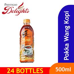 【POKKA WANG KOPI / TEH BOTTLE】24 X 500ML DRINK SALE! Singapore Brand ! Old local taste!