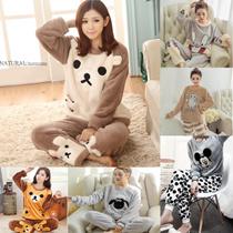 韓国ファッション 2点セット 女性パジャマ トトロ レディースパジャマ ナイトウェア ルームウェア 上下セット 寝間着 静電気防止 肌にやさしい絹 ァッション個性な上着+パンツ 男女件用