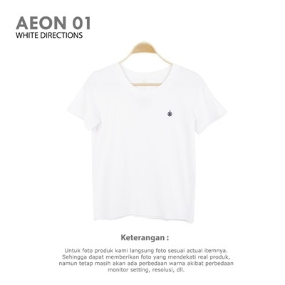 AEON 01 WHITE DIRECTION