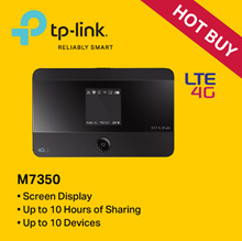 TP-LINK M7350 LTE-Advanced Mobile Wi-Fi /Hotspot - 3 YEARS LOCAL WARRANTY