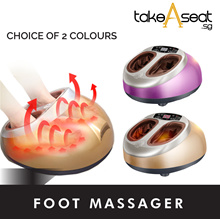 Foot Massager | Feet Massage | Shiatsu | Heat Therapy | Relaxation | Stress | Fatigue