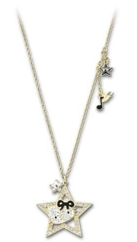 5fb09731e Qoo10 - Swarovski Hello Kitty Rock Star Pendant gold-plated 1145273 ...