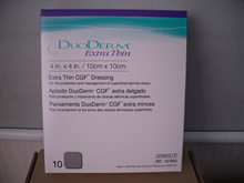 Brand DuoDerm Extra Thin CGF Dressing 4in.x4in. 10/pack -187955
