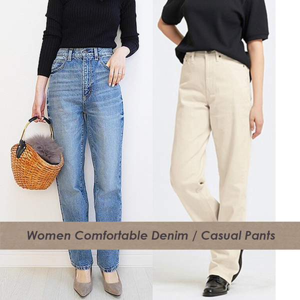Super Comfy Women Jeans Pants Deals for only Rp89.000 instead of Rp100.000