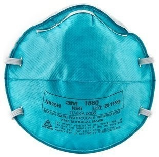 Count N95 Medical 20 1860 Mask 3m3m