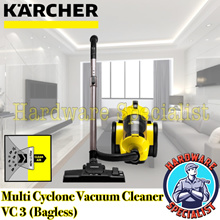**** NEW MODEL **** Karcher Bagless Dry Vacuum Cleaner VC3 PLUS / 2 Yrs Warranty / IMPROVED MOTOR!!