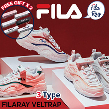 [FILA][Free Gift Velcro Strap] RAY Couple Sneakers / FX VELTRAP Sneakers