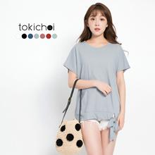TOKICHOI - Ribbon-Tie Basic Tee-171471