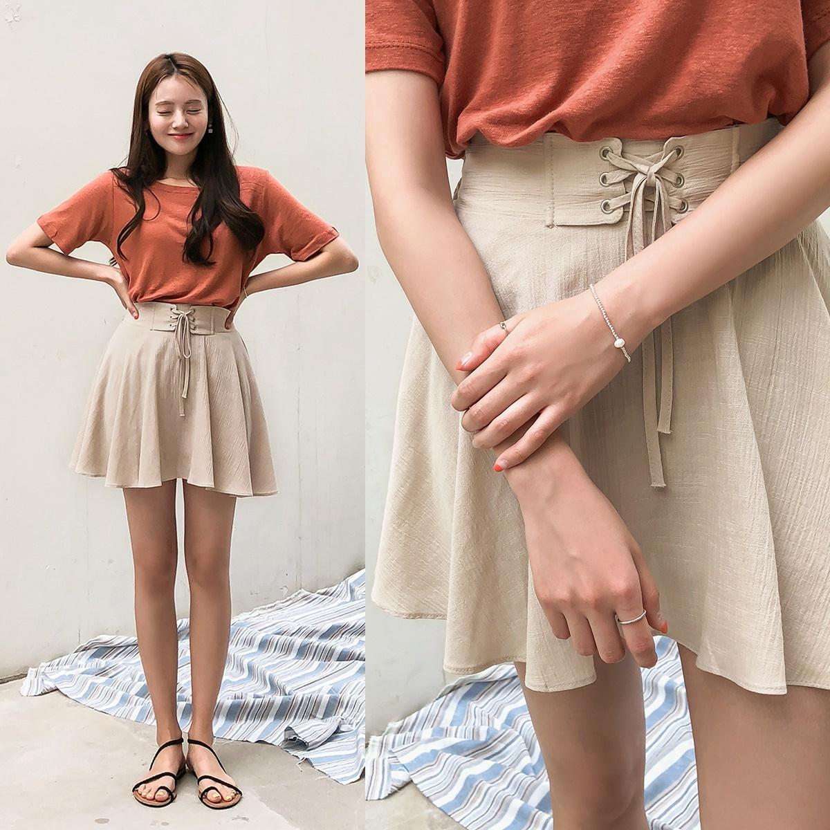 [CHERRYKOKO官方旗艦店] Flare Skirt Pants / culino skirt pants