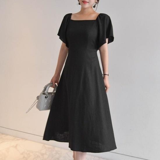 悪女日記】デミアンワンピース55773col 綿ワンピース/ 韓国ファッション