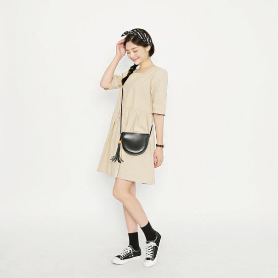 子供エムスリーベビー石リンネンワンピース 綿ワンピース/ 韓国ファッション
