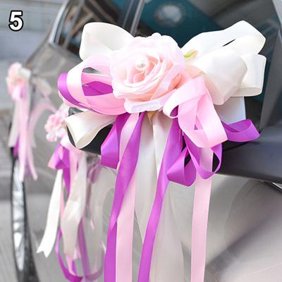 Qoo10 1pcs1wed Wedding Car Decoration Flower Door Handles And