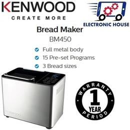 ★ Kenwood BM450 Bread Maker ★ (1 Year Singapore Warranty)