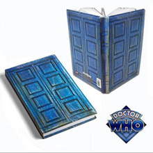 NEW hot Doctor Who Tardis Journal Book toy Notebook River Song s Travel Journal collectors action fi
