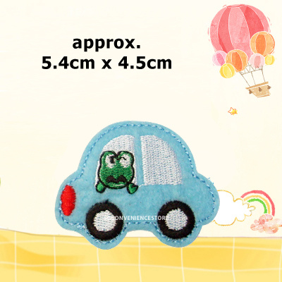 cea44e64b53bd1 DIY Fabric Embroidery Iron On Patch Kids Applique Badge Frog in Blue Car  Motif Baby Accessory Decals  Rating  0  Free  S 8.99 S 2.50