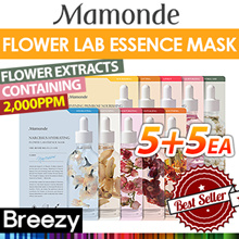 BESTSELLING! ★5+5★ [Mamonde] 5+5 Flower Lab Essence Mask