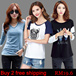 ♥Only TODAY HOT SALE ♥FREE SHIPPING 100 NEW ARRIVAL ♥Korean Women Top Dress Casual Blouse T shirt
