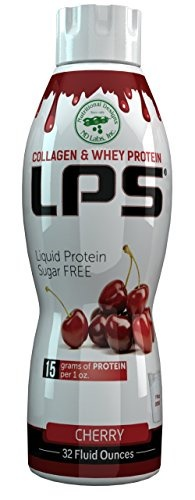 Sugar-Free Liquid Collagen & Whey Protein Supplement (Lactose, Soy, & Gluten