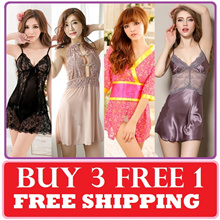 [LAZY B] NEW ARR / DISCOUNT SALE SEXY LINGERIE PYJAMAS Thong Stocking Cosplay Sleepwea