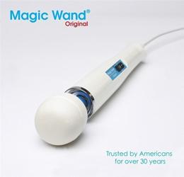 10 Speed Magic Wand Massager Full Body Neck Vibrating Stick with Hitachi Motor