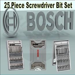 BOSCH 25 PIECES SCREWDRIVER BIT SET / VALUE SET / ONE IN ALL