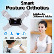 Smart Posture Orthotics invisbile Orthotice with Vibration. Hampback Corrector Posture Adjustable.