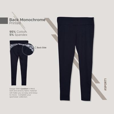 Yoga Long Pants_Back Monochrome