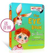 Dr. Suss Dr Seuss The Eye Book eye book children English original picture book board books infant ba