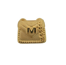 Chow Tai Fook 999 Pure Gold Charm - Clutch Bag [M for Money] R28353