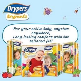 [Apply Q10 Coupon][Official Store][Free Drypantz] Drypers Drypantz Carton Sales / Diapers /