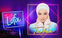 Be Lofa  Turban* Naelofar Hijabs* Premium Cotton Lycra* Easy to Wear