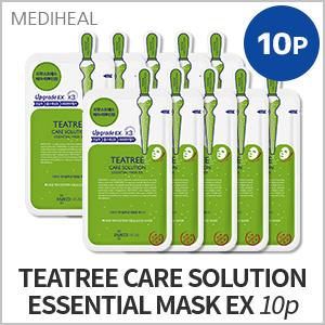 1# TEATREE CARE SOLUTION ESSENTIAL MASK EX 10P