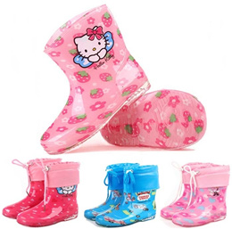 Kids Hello Kitty Thomas Cartoon Rain Boots