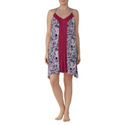 Secret Treasures Womens And Plus Modern Rayon Spandex Strappy Chemise Gown