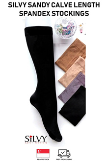 Muslimah Womens Calve Length Ankle Spandex Stockings Socks