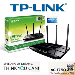 [TP Link] AC1750 Wireless Dual Band Gigabit Router Archer C7 / router/AC1750/networking system New