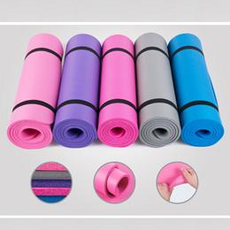 FLAT PRICE! Premium NBR Yoga Mat Exercise Mats 10 MM Thickness