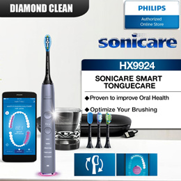 Philips DiamondClean Smart Sonic Electric Toothbrush - HX9924 with 2 years warranty