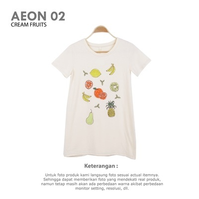 AEON 02 CREAM FRUITS