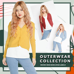 30/10/2018 updates★Buy 3 Free Qxpress★NEW DESIGN!★Slip Cardigan★Womenswear★Kstyle★Outerwear