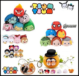 ★ Tsum Tsum Plush★Finding Nemo/Dory/frozen♥Captain America♥Inside Out♥Paw Patrol♥Figurines♥Hulk