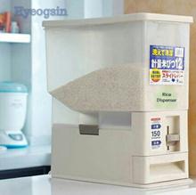 [HYEOGSIN]★Japanese Design Automatic Rice Dispenser Storage Rice Stocker